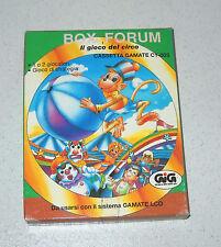 Cassetta GIG Gamate BOX FORUM Il gioco del circo Console NUOVO C1-003