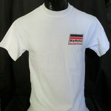 Official Skip Barber Racing School T-Shirt, White, Men, Size Large, NEW