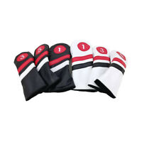 1x/3x Golf Cover Headcover For Driver Wood Hybrid FW UT Taylormade Ping Callaway
