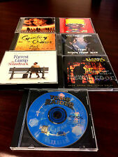 lot of 7cds tomb raider-forest gump-city of angels-colective soul-counting crows