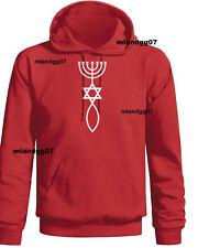 Messianic  Christian Symbol  Hoodie SIZE S-3XL