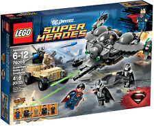 NEW LEGO SUPERMAN: BATTLE OF SMALLVILLE 76003 Set Sealed Box General Zod minifig