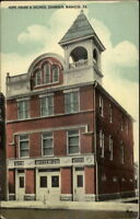 Manheim PA Hope House Fire Station c1910 Postcard