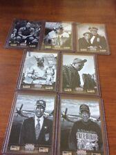 2012 Panini Tuskegee Airmen Lot of 7 (101,3,4,5,6,113,119)