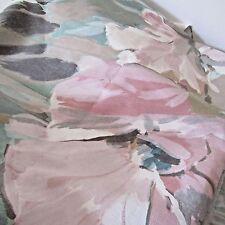 5th avenue designs E.S.D preshrunk screen printed fabric pastel flowers 3 + Yard
