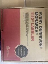 Monarch Model 1110 Avery Dennison 1 Line Pricing Gun With Ink Cartridge