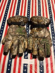 Carhartt Camo Camouflage Gloves Size XL