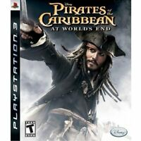 PIRATES OF THE CARIBBEAN AT WORLD'S END ( PS3 Sony Playstation 3 ) TESTED