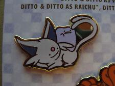 NEW Pokemon Center DITTO Pin Charm -- Ditto as Espeon