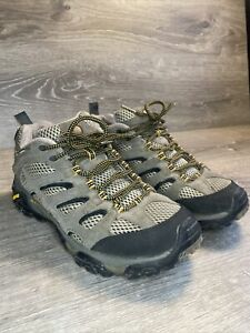 Merrell Moab Ventilator Mens Size 7 Walnut Brown Athletic Hiking Trail Shoes