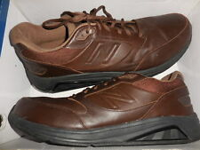 NEW BALANCE MENS MW928BR LEATHER WALKING SHOE  SIZE 16 B