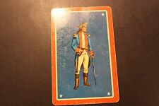 Vintage Ace of Spades with Victorian Man on Back Playing Card