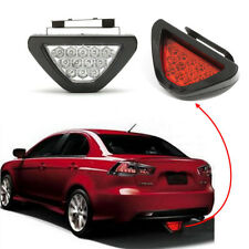 F1 12 LED Universal DRL Rear Tail Brake Stop Fog Flash Red Driving Light Lamp
