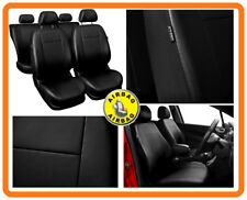 CAR SEAT COVERS full set fit Opel Adam Leatherette Black