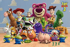"TOY STORY 3 - DISNEY / PIXAR MOVIE POSTER / PRINT (THE CAST) (SIZE: 36"" x 24"")"