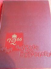 1957 SCARLET LETTER RUTGERS UNIVERSITY YEARBOOK NEW JERSEY VINTAGE