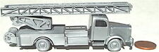 Feuerwehr Leiterwagen Silberwehr Mercedes 5000 silber IMU H0 1:87 Replika 96 å *