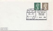 (32597) CLEARANCE GB Cover Euston Royal British Legion Locomotive 2 Nov1981