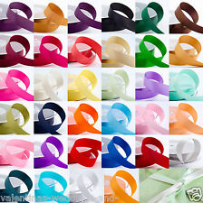 Double Sided Satin Ribbon Crafts Sewing 25m 50m Roll