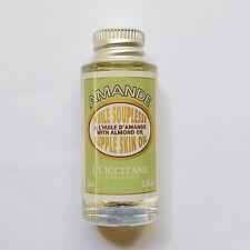 L'Occitane Amande Almond Supple Skin Oil with Almond Oil 15ml Travel Size NEW