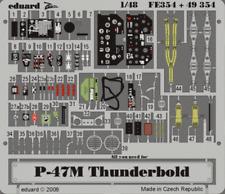 Eduard Zoom FE354 1/48 Republic P-47M Thunderbolt Tamiya