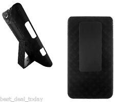 *Verizon OEM Shell Holster Combo Case W/ Swivel Clip For LG Lucid VS840 VS-840