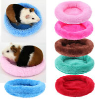 Small Cage Cute Guinea Pig Bed Winter Animal Hamster Hedgehog Sleeping House S/L