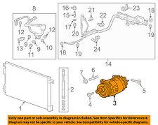 GM OEM-A/C AC Compressor 23499392