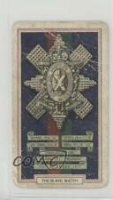 1939 Gallaher Army Badges Tobacco Base #16 The Black Watch Non-Sports Card 1i3