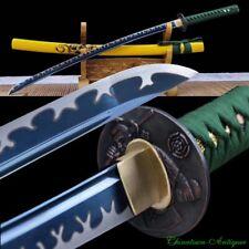 Japanese Samurai SwordGhost Warrior Katana Steel Blade Polishing sharp 鬼侍 #1814