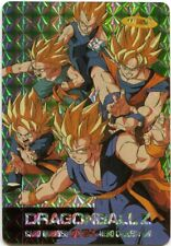 Goku Vegeta Gohan #231 Prism Foil Japanese Dragonball Z Card Hero Collection