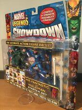 MOC Marvel Legends Showdown Mr. Fantastic Vs Moleman Starter Set Toy Biz 2006