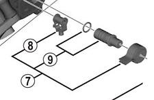 Shimano RD-M9000 stabilizer unit