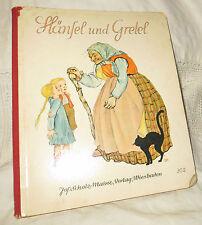 Hänsel und Gretel Märchenbilderbuch BRÜNHILD SCHLÖTTER Jos.Scholz-Verlag Nr.302