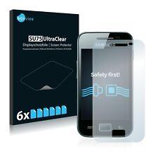 6x Samsung Galaxy Ace S5830i Displayschutzfolie Klar Transparent Schutzfolie
