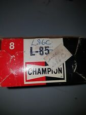 Champion Spark Plugs L85 NOS L-85 set of 8 Rare