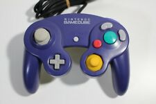 Nintendo GameCube Official Controller Violet + Clear Wii Pad Game JAPAN F/S 2