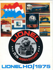 Lionel Trains HO/1975 Catalog EX 071016jhe2
