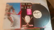 METAL MASSACRE NINE LP Metal THRASH Comp 1988 banshee toxik wrath redrum rare!
