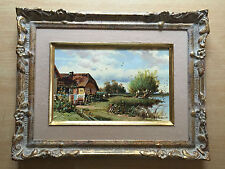Alejke Gurgin Kazarian (1938 Moskau)  Öl/Malplatte, 18 x 27 cm, Rahmen 33 x 43