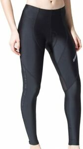 Souke Women's Cycling Pants 3D Padded Bike Bicycle Long Tights for Fall Spring