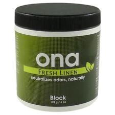 ONA Fresh Linen Block 6 oz - odor air neautralizer control crystal pro ounce gel