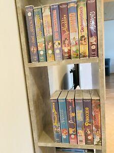 Walt Disney VHS - Sammlung - 14 Stück u.a Alice & Dumbo - NEU - Eingeschweißt