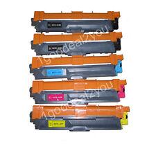 5pk Brother TN221TN225 Compatible Laser Toner for 3140CW 3170CDW 9330CDW 9340CDW