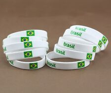 BRACELET BRAZIL/ BRESIL COUPE DU MONDE WORLD CUP BRAZIL 2014 HOMME FEMME ENFANT