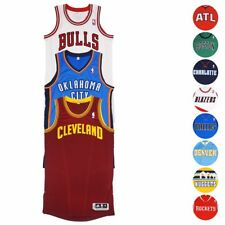 NBA Adidas Authentic On-Court Wordmark Climacool Revolution 30 Jersey Men's
