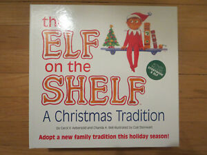 Elf on the Shelf - A Christmas Tradition Book Set - Blue Eye Boy Doll