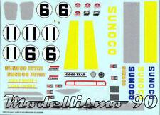 Decal sheet 1//43 Ferrari 512M #9 Le Mans 1971 De Fierland//De Cadenet NEW