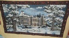 RARE CHATEAU STE MICHELLE ~ LARGE PROMOTIONAL TAPESTRY / WALL HANGING ~ 29 x 50""