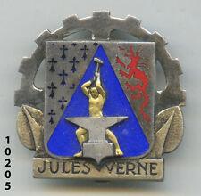 Insigne marine , Navire atelier JULES VERNE  (  ARGENT  )